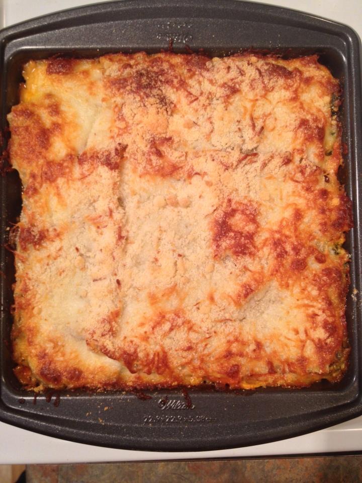 Vegetable Lasagna, Italian Cooking, Recipe