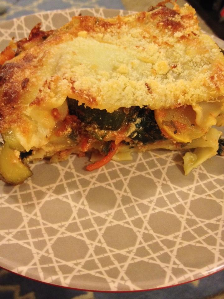 Vegetable Lasagna, Italian Cooking
