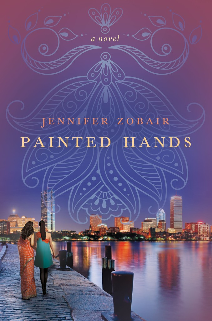 painted hands by jennifer zobair, muslim american, novel, writer