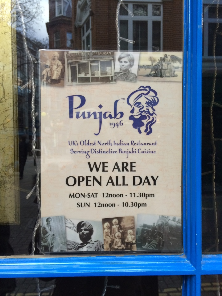 Open all day, except today.