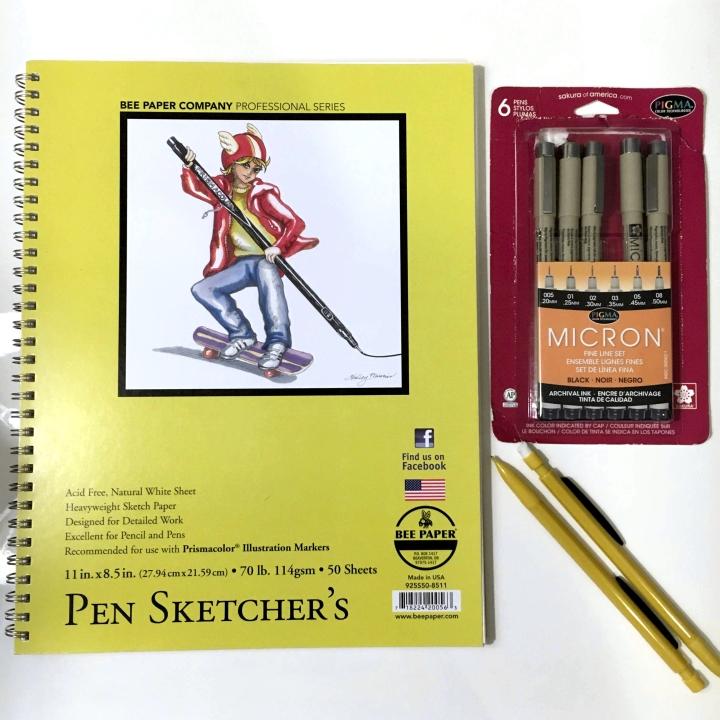drawing tools, doodle tools, cartoon, supplies