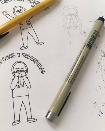 how to draw digital cartoons, method, art, creativity, doodle