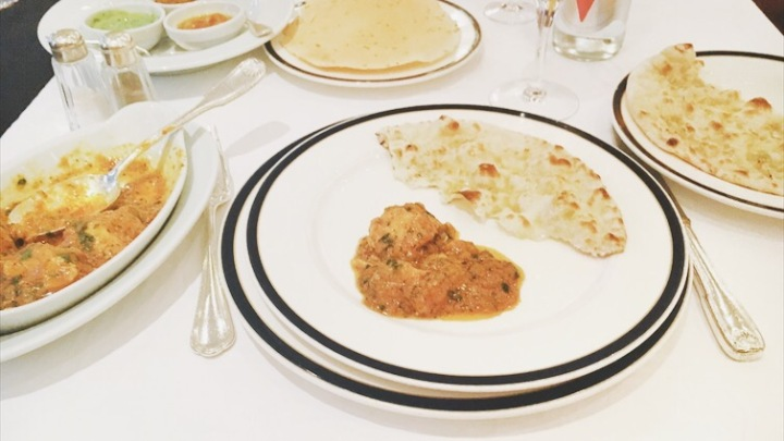 New Balal restaurant, Paris, Pakistani, Indian, food, chicken tikka masala, naan