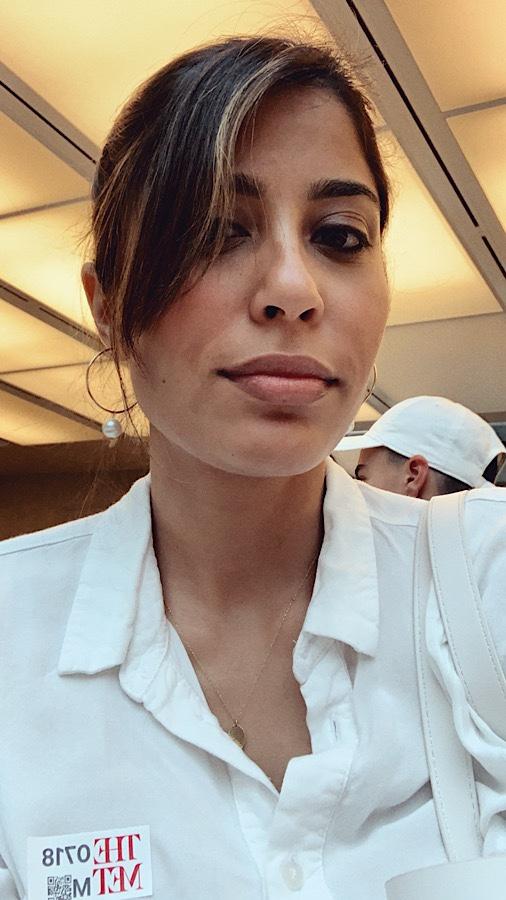 Nida Chowdhry, writer, the Met, Met museum, noornoir earrings