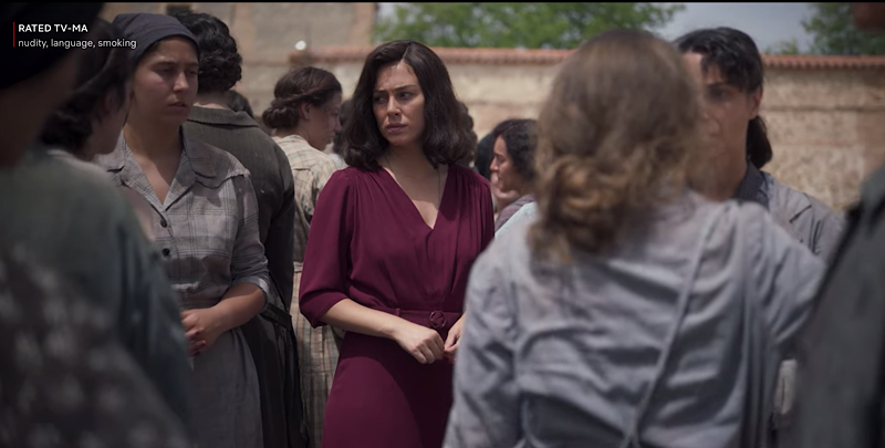 Las Chicas Del Cable Season 5 Part 1, Cable Girls, Netflix, Lidia, in prison camp, Cifuentes